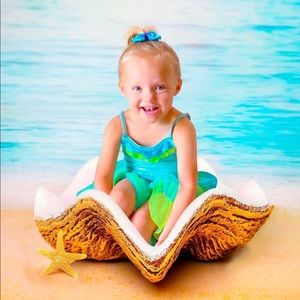 NWOT Baby Toddler Girl's Mermaid Halloween Costume
